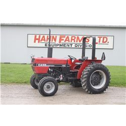 CIH 485 2wd tractor, rops, shuttle, 14.9x28, 1 remote, 5595 hrs