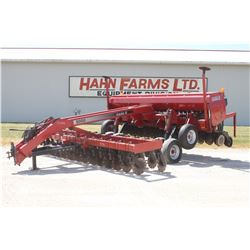 CIH 5400 15' NT drill, CIH 5000 coulter cart, hyd markers, press wheels