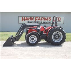 MF 3645 4wd tractor, rops, Q35 loader, hyd. shuttle, 520 70R34, 2 remotes, 3610 hrs
