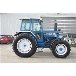 Ford 7710 II 4wd tractor cab, air, Dual Power, 18.4x38, 3 remotes