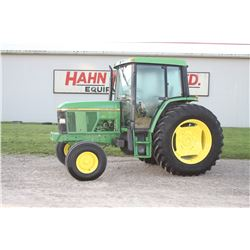 JD 6400 2wd tractor, cab, air, power quad, 2 remotes, 18.4R-38, 3892 hrs