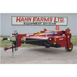 "2012 NH H7220 9'2"" discbine, conditioning rolls"