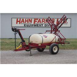 Hardi 300 single axle sprayer, 35' boom, manual controls