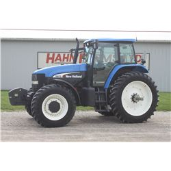2006 NH TM 175 4wd tractor, cab, air, front supension, 420 80R46, 4 remotes, 1295 hrs, one owner