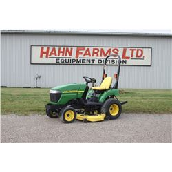 """2006 JD 2305 4wd compact tractor, 54"""" mid  mount mower, 285 hrs"""