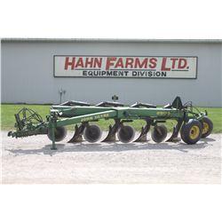 JD 2800 4 furrow semi mount plow, auto reset, vari width