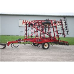 Kongskilde PGB 21' cultivator, rolling harrows, rear hitch
