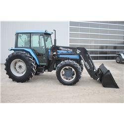 Landini Blizzard 85 4wd tractor, cab, air, Q75 loader, shuttle, 18.4x30, 2 remotes, 6979 hrs