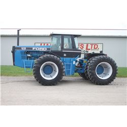 Ford Versatile 876, 4wd articulating tractor, cab, air, 3 pth, 20.8x38 duals, Firestone, 5015 hrs