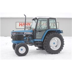 Ford 7740 SL 2wd tractor, cab, air, 18.4x34, 2 remotes, 5932 hrs
