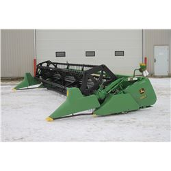 JD 920F 20' flexhead, full finger auger, poly snout, poly bottom, one owner