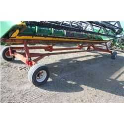 Horst 20' header carrier wagon