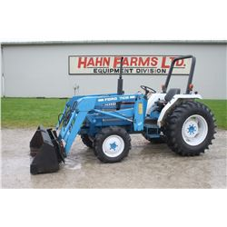 Ford 1920 4wd tractor, rops, 7108 loader, shuttle, 1898 hrs