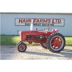 IH Farmall H 2wd tractor, gas, narrow front