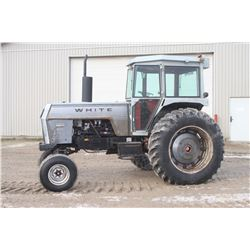 White 2-85 2wd tractor, cab, air, 18.4x38, 2 remotes, 5464 hrs