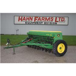 JD 8250 18 run seed drill, grass box, hyd. cylinder