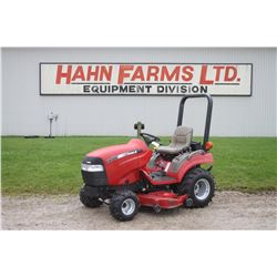 """2004 CIH DX 18 4wd compact tractor, 60""""  mid mount mower, hydro, 300 hrs"""
