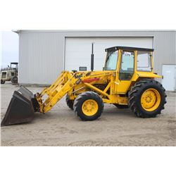 MF 50E 4wd tractor, cab, powershuttle, loader, 3 pth pto, 16.9x28, 2 remotes, Municipal unit