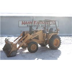 Case 480LL 2wd tractor, 4 post rops, 3pth pto, 2513 hrs, Municipal unit