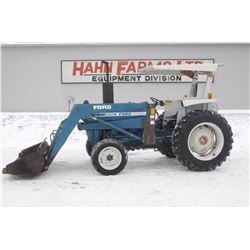 Ford 3600 2wd tractor, 772 loader, canopy, 1619 hrs
