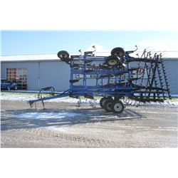 NH ST250 28' cultivator, 4 bar coil harrow, one owner