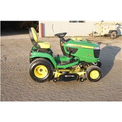 "2018 JD X750 lawn tractor, 54"" deck, diesel, 16 hrs, as new"