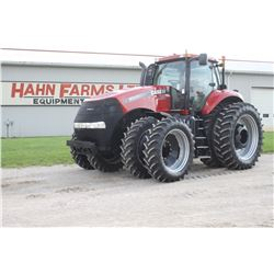 2014 CIH 315 4wd tractor, 480 80R50 axle duals, front duals, luxury cab, leather trim, guidance read