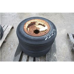 used tire and rim assembly