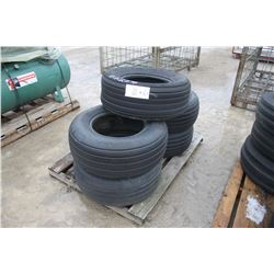 skid of 11L-15 used tires