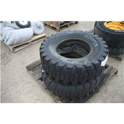 pair of 12.5/80-18 used tires