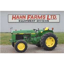 JD 2255N 2wd orchard tractor, hilo, 1 remote, independent pto, 2940 hrs