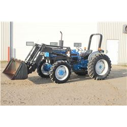 Ford 3930 4wd tractor, rops, Quickie 610 SL loader, shuttle, 1897 hrs