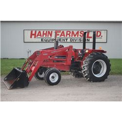 CIH 885 2wd tractor,  2250 loader, rops, 18.4x30, 4127 hrs