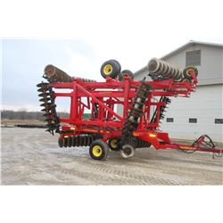 Sunflower 1435, 40' rock flex, hyd. folding disc, hydrulic level