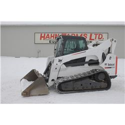 2013 Bobcat T870 track skidsteer, cab, air, 2 speed, high flow hyd., hyd. QT, selectable joystick, 2