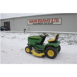 "JD LX280 lawn tractor, 48"" mid mount mower, 650 hrs"