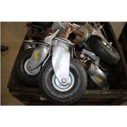 20- 4.00-4 heavy duty scafolding wheels