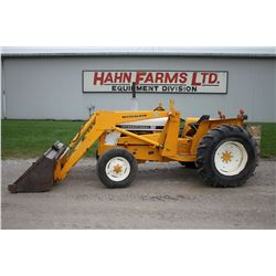 IH 2500A 2wd tractor, loader, 3 pth, 1215 hrs