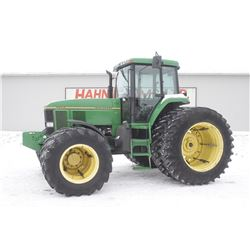 JD 7800 4wd tractor, cab, air, power quad, 18.4x42 duals,  front duals, 3 remotes, 8098 hrs. Copy of