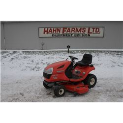 """Kubota T1870 lawn tractor, 54"""" deck, gas, 656 hour"""