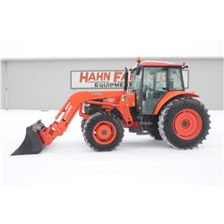2011 Kubota M108S dual speed  4wd tractor, cab, air, LA1403 loader, 3rd function valve, 18.4x34, 2 r