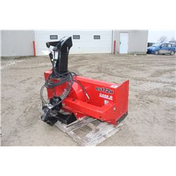 """CIH front mount 72"""" snowblower with harness (to fit compact tractor)"""