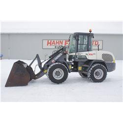 2013 Terex TL100 4wd wheel loader, cab, air, coupler, HV bucket, 2606 hrs