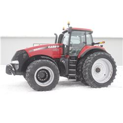 2014 CIH 235 4wd tractor, cab, air, leather trim, front duals, 480 80R50 axle duals, power shift, fr