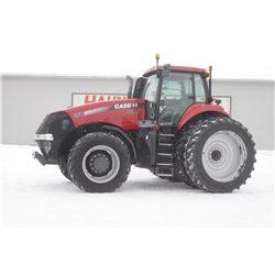 2012 CIH 260 Magnum 4wd tractor, cab, air, 480 80R50 axle duals, power shift, Guidance ready, 2985 h