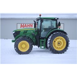 2013 JD 6150R 4wd tractor, Premium cab, air, 480 80R42, E23 powershift, loader ready with electric j