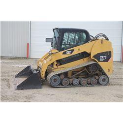 "2008 Caterpillar 277C track skidsteer, cab, air, high flow, 80"" bucket"