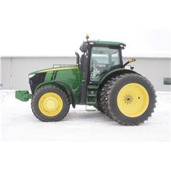 2011 JD 7230R 4wd tractor, cab, air, 480 80R46 axle duals, 4 remotes, Command Quad, auto trac ready,