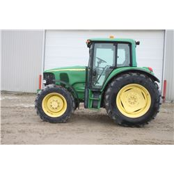 2003 JD 6420 4wd tractor, Premium cab, air, IVT, 18.4x38, 3 remotes, 3940 hrs