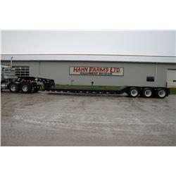 "New 2020 Witzco RG-50 50 ton hydraulic gooseneck trailer, tri axle, 8'6"" wide, self contained hydrau"
